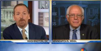 Bernie Sanders Explains Awkward Sex Essay To Chuck Todd