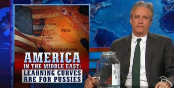 Jon Stewart Slams The Chickenhawks On Middle East Policy