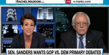 Bernie Sanders Proposes Bipartisan Primary Debates