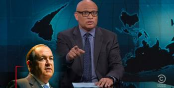 The Nightly Show Rips Huckabee For Creepy Remarks About Showering With Girls