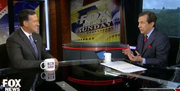 Chris Wallace Smacks Rick Santorum On Flat Tax Myth That Helps The Rich