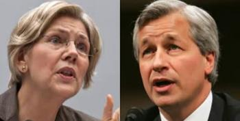 Elizabeth Warren On Jamie Dimon's 'Mansplaining'