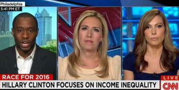 GOP Strategist Shot Down On CNN For Attacks On Clinton Over Income Disparity