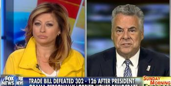 Peter King Attacks Obama For 'Failure Of Leadership' On Trade Deal