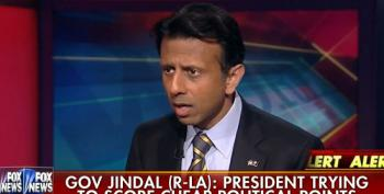 'Completely Shameful': Jindal Attacks Obama's Gun Violence Comments