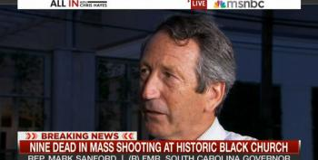 Chris Hayes Confronts Mark Sanford About Confederate Flag