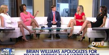 Fox Throws Stones At Brian Williams From Their Glass House Of Bill O'Reilly Lies