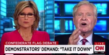 CNN Host Battles Cooter Jones Over Confederate Flag