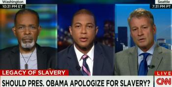 Don Lemon And NYT Op-ed Writer Ask If President Obama Should Apologize For Slavery