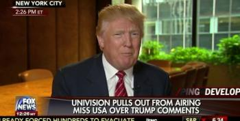 Donald Trump Says He Has Signed Contract With Univision