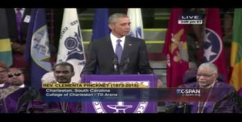 President Obama's Eulogy For Rev. Clementa Pinckney