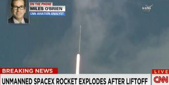 SpaceX Falcon 9 Rocket Explodes Midair