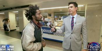 Bill O'Reilly Sends Jesse Watters Out To Shame And Harass Homeless People