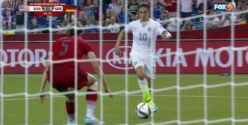 USA Beats Germany 2-0 FIFA Women's World Cup Semi Final