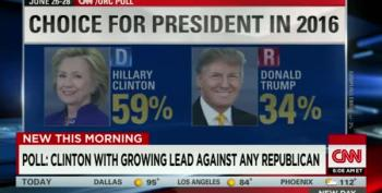 Donald Trump 2nd In CNN GOP Poll
