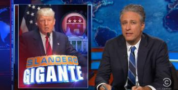 Jon Stewart Slams Trump Apologists For Making Light Of His Racist Remarks About Mexicans