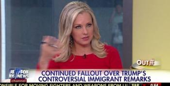 Fox News' Outnumbered Praises Trump For Anti-Mexican Remarks