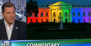 Eric Bolling Lectures Obama For Display Of Rainbow Flag At White House