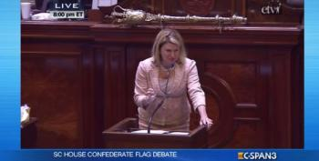 S.C. Rep. Jenny Horne Gives Impassioned Speech To Take Down Confederate Flag