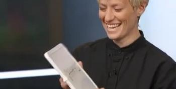US Soccer Star Megan Rapinoe Describes Herself In One Word
