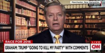 Lindsey Graham: Trump Is Going To Kill The Party