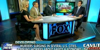 Fox Pundits Blame Rise In Homicides On Liberal Media Hostile To Police