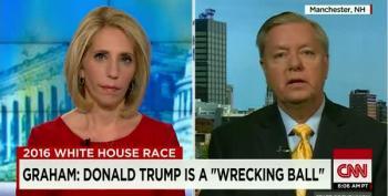Graham: Donald Trump Is A 'Wrecking Ball'