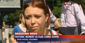 Confederate Flag Supporter: Chants Of 'USA!' Were A Slap In The Face