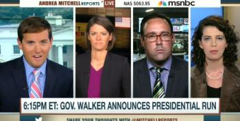 MSNBC Pundits Praise Walker's 'Heck Of An Experiment' Courting Old White Midwest Voters