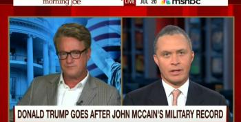 Scarborough: Trump Resorted To An 'Al Franken Churned Up Joke' On McCain