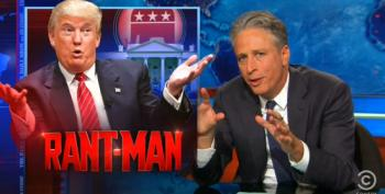 Stewart Mocks Republicans For Being Surprised By Trump's 'Projectile Vomit Of Dickishness'