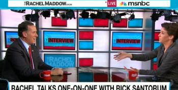 Rachel Maddow Gives Rick Santorum A Civics Lesson