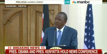 Kenyan President Says Gay Issue Is A Non-Issue