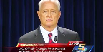 Incredible Indictment Announcement Against University Of Cincinnati Police Officer