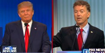 Trump Starts Out Fox GOP Debate By Refusing To Promise Not To Run As Independent