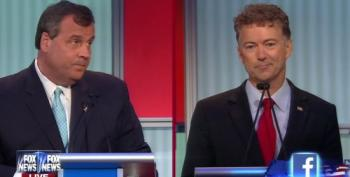 Chris Christie And Rand Paul Go For Each Others' Throats