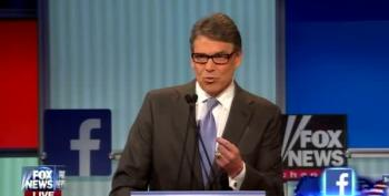Fiorina And Perry On Trump: Cowboy Snark