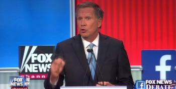 Kasich Passionately Defends Medicaid Expansion