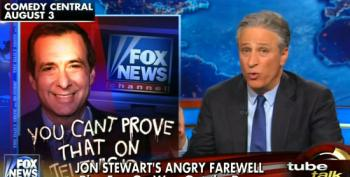 Howie Kurtz Whines About Stewart's 'Angry Farewell' While Pretending To Take The High Road