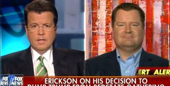 Guess Who Erick Erickson Blames For Joe Arpaio Republicans? Both Sides!