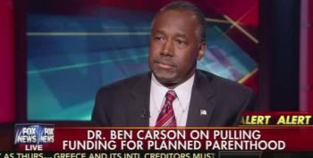 Ben Carson: Planned Parenthood Trying To Control Populations In Black Neighborhoods