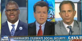 Cavuto And Company Pretend Republicans Don't Want To Gut Social Security