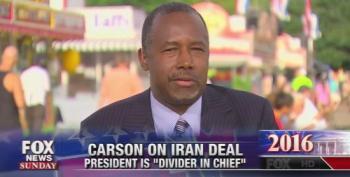 Ben Carson Calls President Obama  'Anti-Semitic'