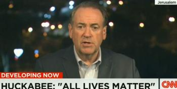 Huckabee Clutches Pearls, Invokes MLK To Criticize Black Lives Matter
