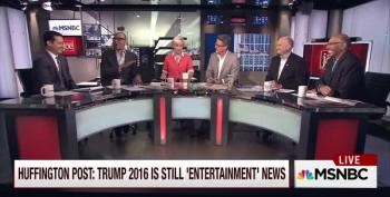 Huffington Post Still Rationalizing Its Decision To Cover Trump As Entertainment News
