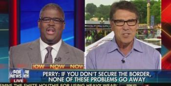 Fox News' Charles Payne Foams At The Mouth To Rick Perry Over Anchor Babies