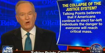 Bill O'Reilly: We're All Gonna Die Because Liberals Don't Punish The Poor Enough!