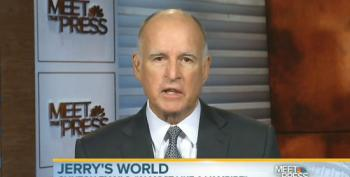 Gov. Jerry Brown Calls Clinton Email 'Scandal' A Vampire