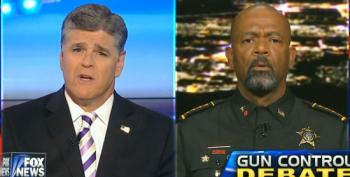Fox's Favorite Wingnut Sheriff 'Challenges' The Obamas To Go Without Security