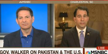 Scott Walker Can't Give Specifics On Pakistan Policy